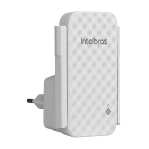 Repetidor Intelbras Wireless IWE 3001 300mbps 2 Antenas Wi-Fi