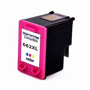Cartucho Tinta HP 662 XL Colorido Compatível
