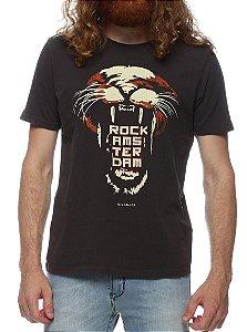 Camiseta King & Joe CA08506 Preta
