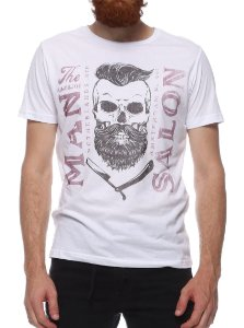 Camiseta King & Joe CA08202 Branca