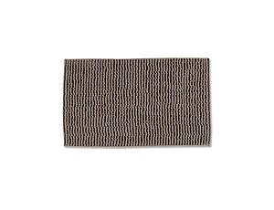 Tapete Para Banheiro Microfibra Antiderrapante 45x65 cm Taupe
