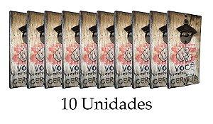 10 unidades do Abridor Rústico de Parede