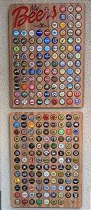 Kit para 215 tampinhas - (1 porta tampinhas de 100 un + 1 módulo extra de 115 un.)