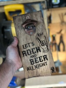 Abridor Rock and Beer