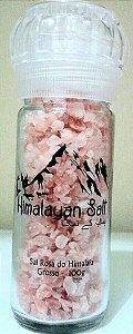 10 Moedores Sal Rosa do Himalaia Grosso 100g - Himalayan Salt