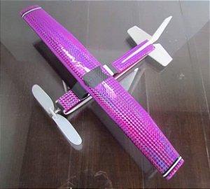 Aeromodelo CESSNA 152 magenta que voa até 60 metros