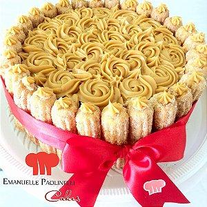 Churros Cake - Bolo de Churros