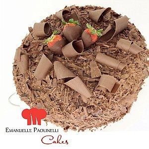 Bolo Chocolate com Morango