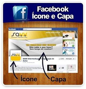 Facebook - Criação de Ícone + Capa