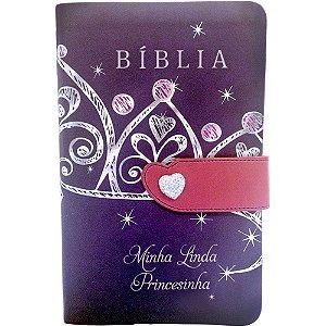 Bíblia Minha Linda Princesinha - Bíblia Linguagem de Hoje
