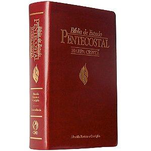 Bíblia de Estudo Pentecostal Média com Harpa Cristã ARC