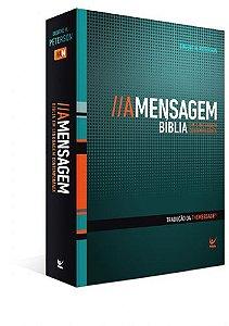 Bíblia A Mensagem Linguagem Contemporânea Capa Dura