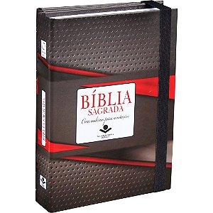 Bíblia Almeida Fonte de Bençãos com Caderno para Anotações