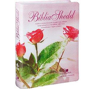 Bíblia Shedd Feminina Almeida Revista e Atualizada