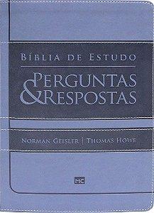 Bíblia de Estudo Perguntas e Respostas Revista e Atualizada