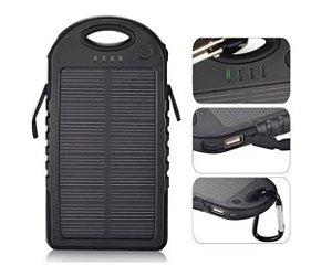 Carregador Solar Power Bank -  EXBOM - 03679