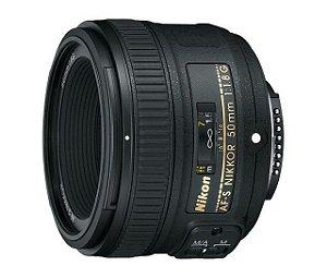 Lente Nikon 50mm Af-s F/1.8G - Auto Foco