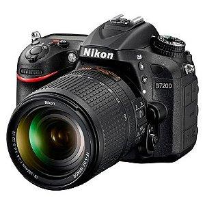 Câmera Nikon D7200 Kit Lente Nikkor 18-140mm VR