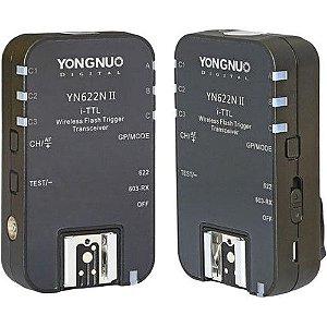 Radio Flash Yongnuo Yn622n II E-ttl P/ Nikon - Par