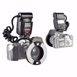 Flash Macro Circular Meike Mk-14ext - Nikon