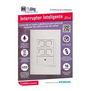 iRPad 4x2 - Interruptor Inteligente Programável pelo Controle Remoto