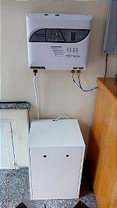 Rack para 04 Baterias 100/115 Ah + 04 Cabos para Interligação e Conexão