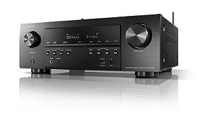 Receiver Denon AVR-S750H - 7.2, 75W, HDMI 6X2, Z2 Áudio