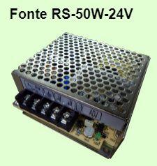 Fonte RS-50W-24V