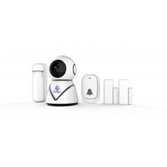 Kit Câmera Inteligente + Sensores de Gás e Fumaça