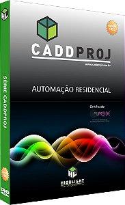 Software CadProj para Automação Residencial