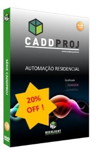 Software CaddProj para Automação Residencial - Com Desconto p/ Associado