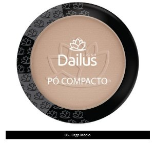 Po Compacto New Dailus 06 Bege Medio