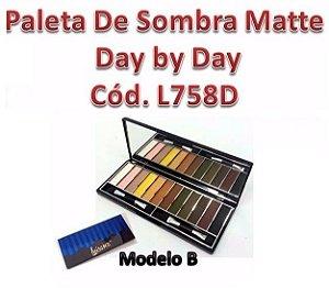 Paleta de Sombras Matte Luisance - REF. L758D B