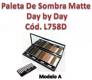 Paleta de Sombras Matte Luisance - REF. L758D A