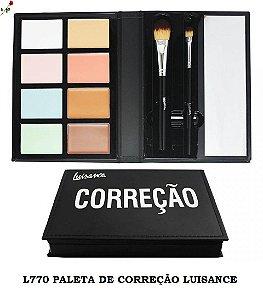 Paleta de Corretivos Luisance com pinceis L770