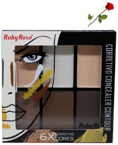 Corretivo Concealer Contour Fair - Ruby Rose