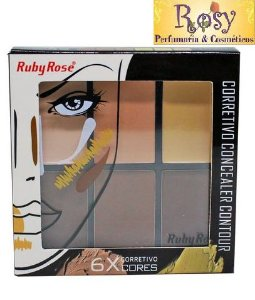 Corretivo Concealer Contour Light - Ruby Rose