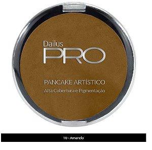 Pancake Artístico Dailus Amarelo