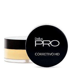 Corretivo HD Dailus Cor 04 - Amarelo