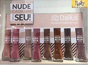 """Esmalte Dailus - Kit """"Nude Cada Um Tem o Seu"""""""