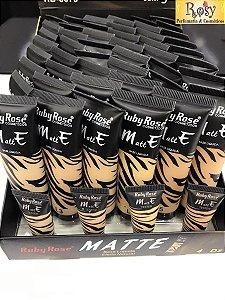 Base Matte Ruby Rose - Atacado - Box c/48 pçs