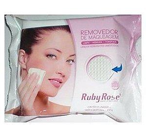 Lenço Demaquilante c/25 Lenços Ruby Rose