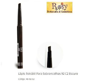Lapis Retratil Sobrancelhas 02 Escura Ruby Rose