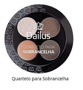 Quarteto Sobrancelhas Dailus