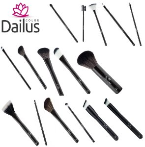 Kit Pinceis Dailus 16 pçs