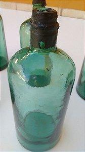 Vidro Antigo Verde Muito Raro Para Colecionadores Anos 1940