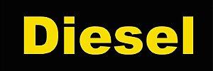 """Adesivo """"DIESEL"""" Veículo Para Lojas E Concessionárias - 50 Unidades"""
