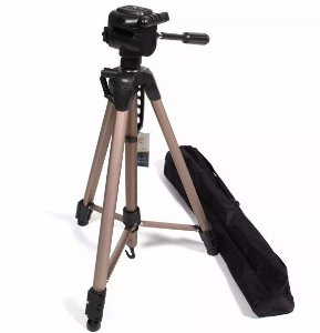 Tripe Weifeng Greika 1,66m Wt 3770 Para Câmeras E Filmadoras