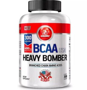 Bcaa Heavy Bomber Usa 300 Caps