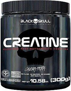 Creatina 100% Pure - 300g - Black Skull